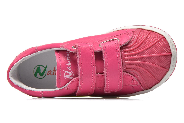 Sneakers Naturino Diamante 4064 VL Roze links