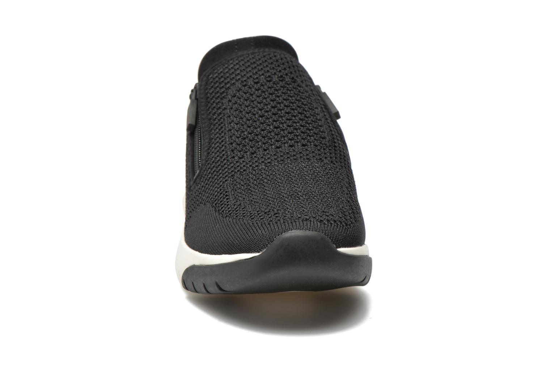 Baskets Ash Studio Noir vue portées chaussures
