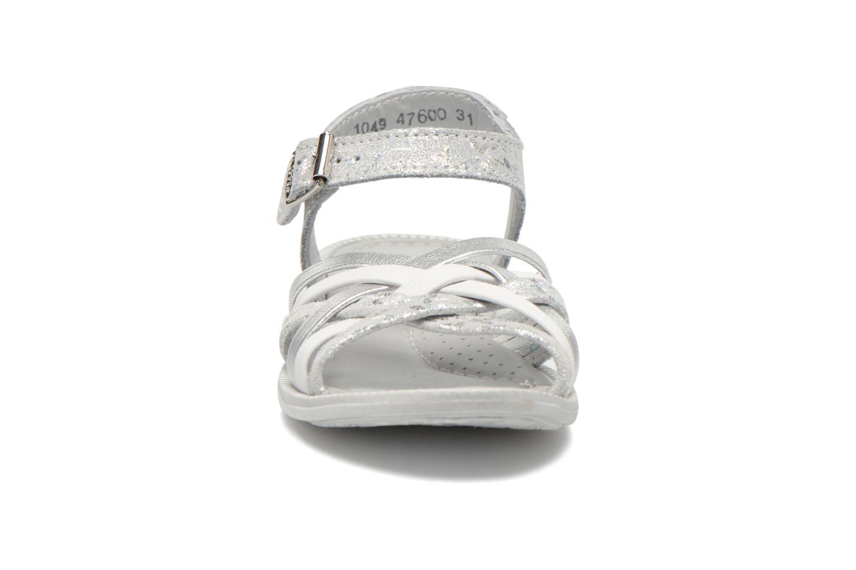 Sandali e scarpe aperte Little Mary Vacances Argento modello indossato