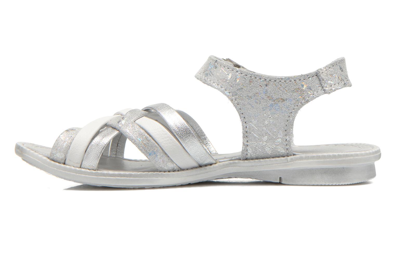 Sandales et nu-pieds Little Mary Vacances Argent vue face