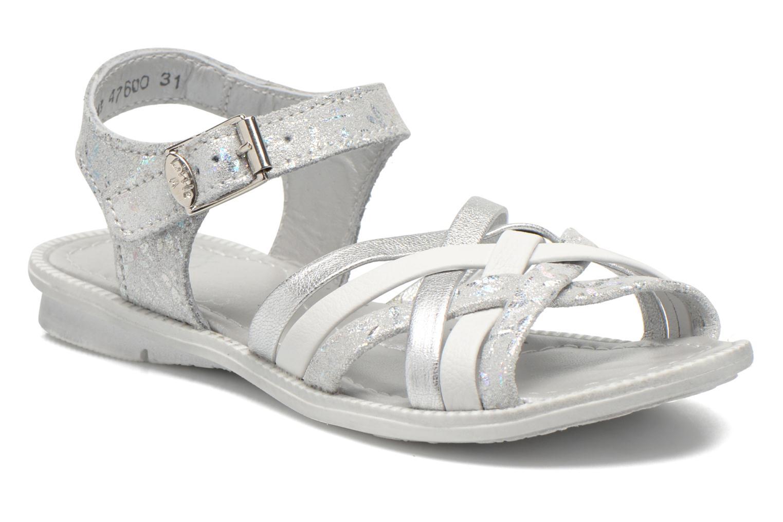 Sandales et nu-pieds Little Mary Vacances Argent vue détail/paire