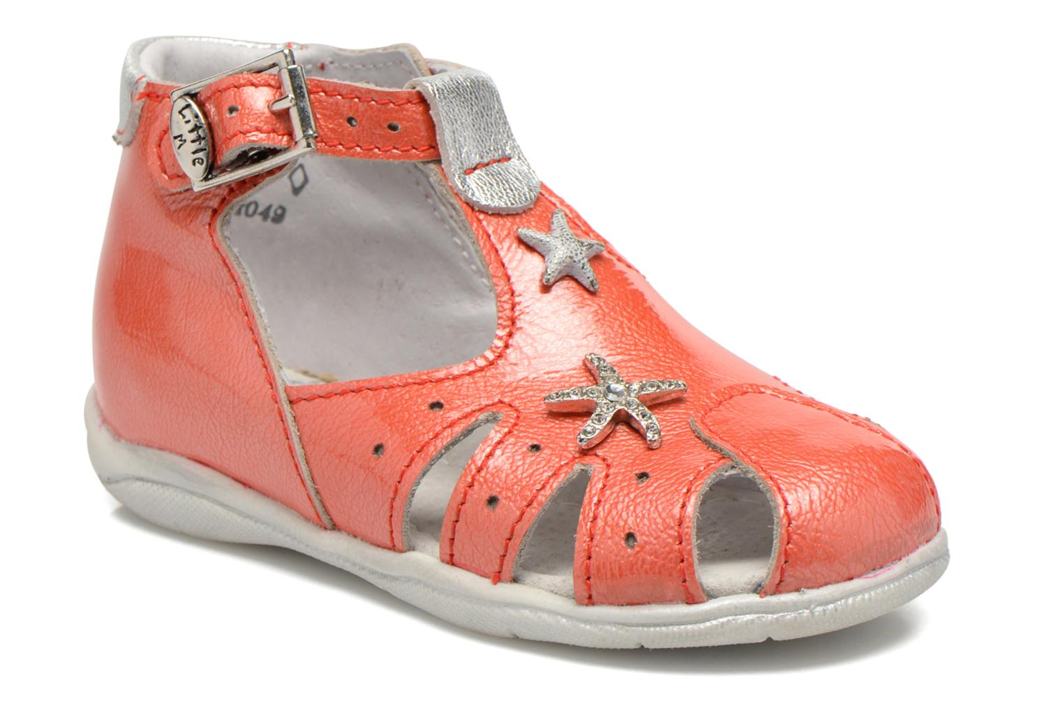 Sandals Little Mary Vienne Pink detailed view/ Pair view