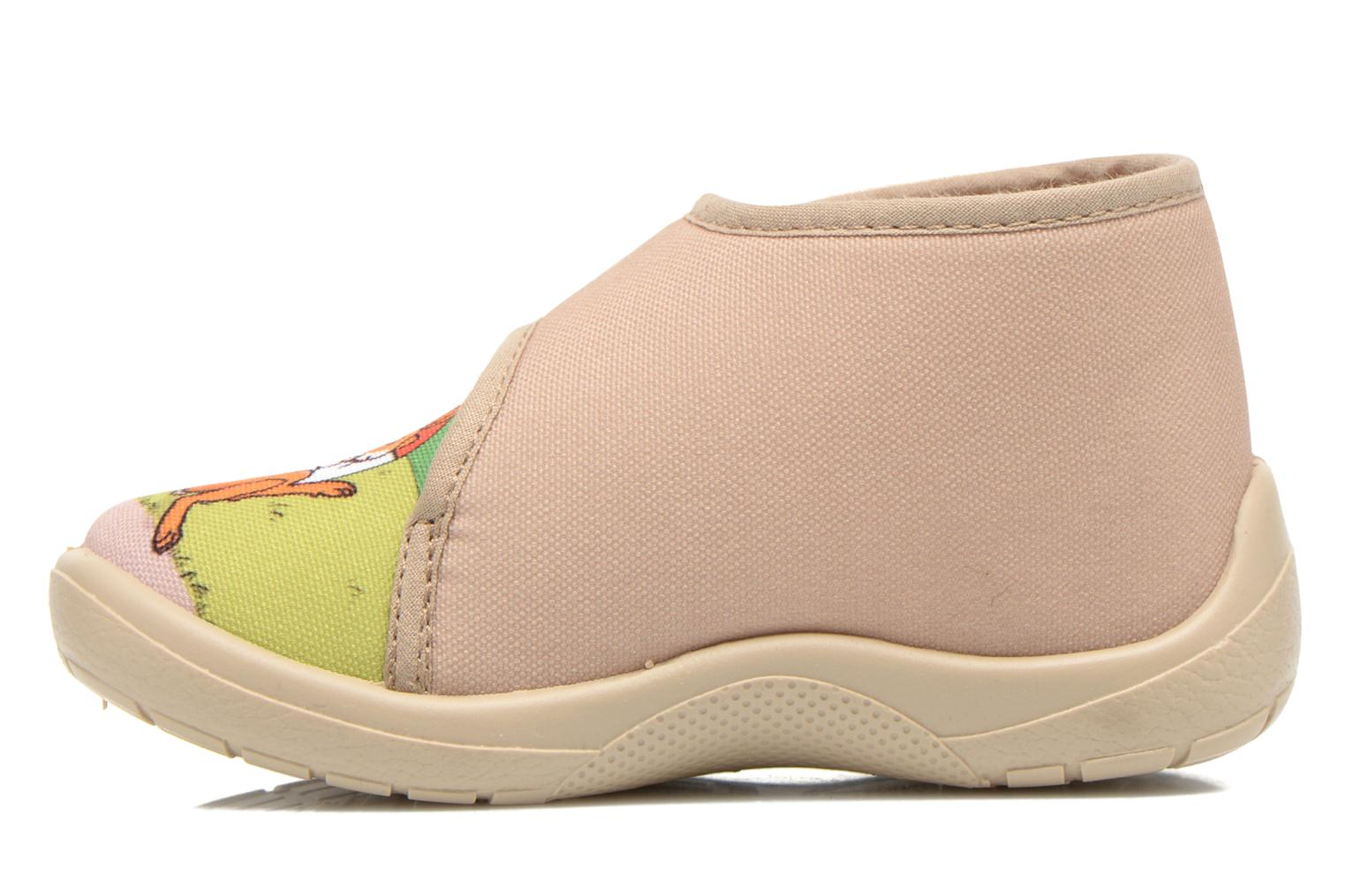 Pantuflas Little Mary Vtortue Beige vista de frente