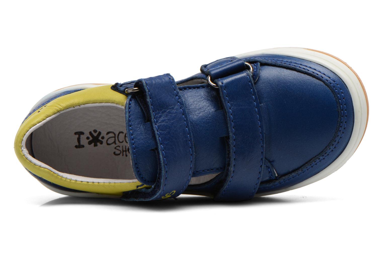 Baskets Acebo's Tempo Bleu vue gauche