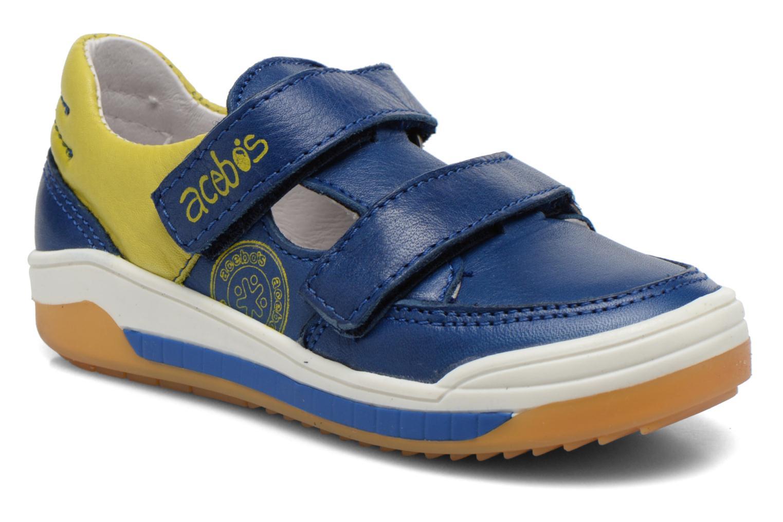 Sneakers Acebo's Tempo Blauw detail