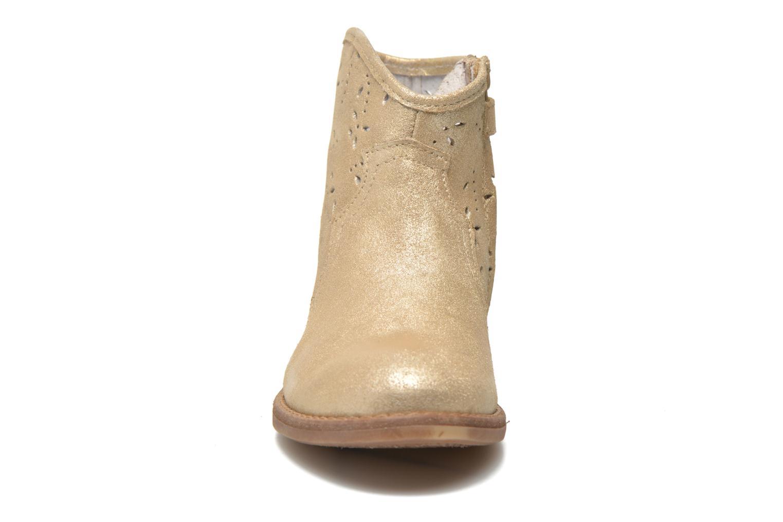 Botines  Acebo's Nerea Oro y bronce vista del modelo