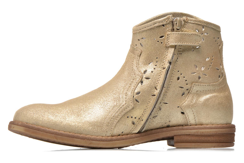 Bottines et boots Acebo's Nerea Or et bronze vue face