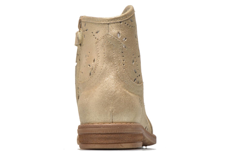 Boots en enkellaarsjes Acebo's Nerea Goud en brons rechts