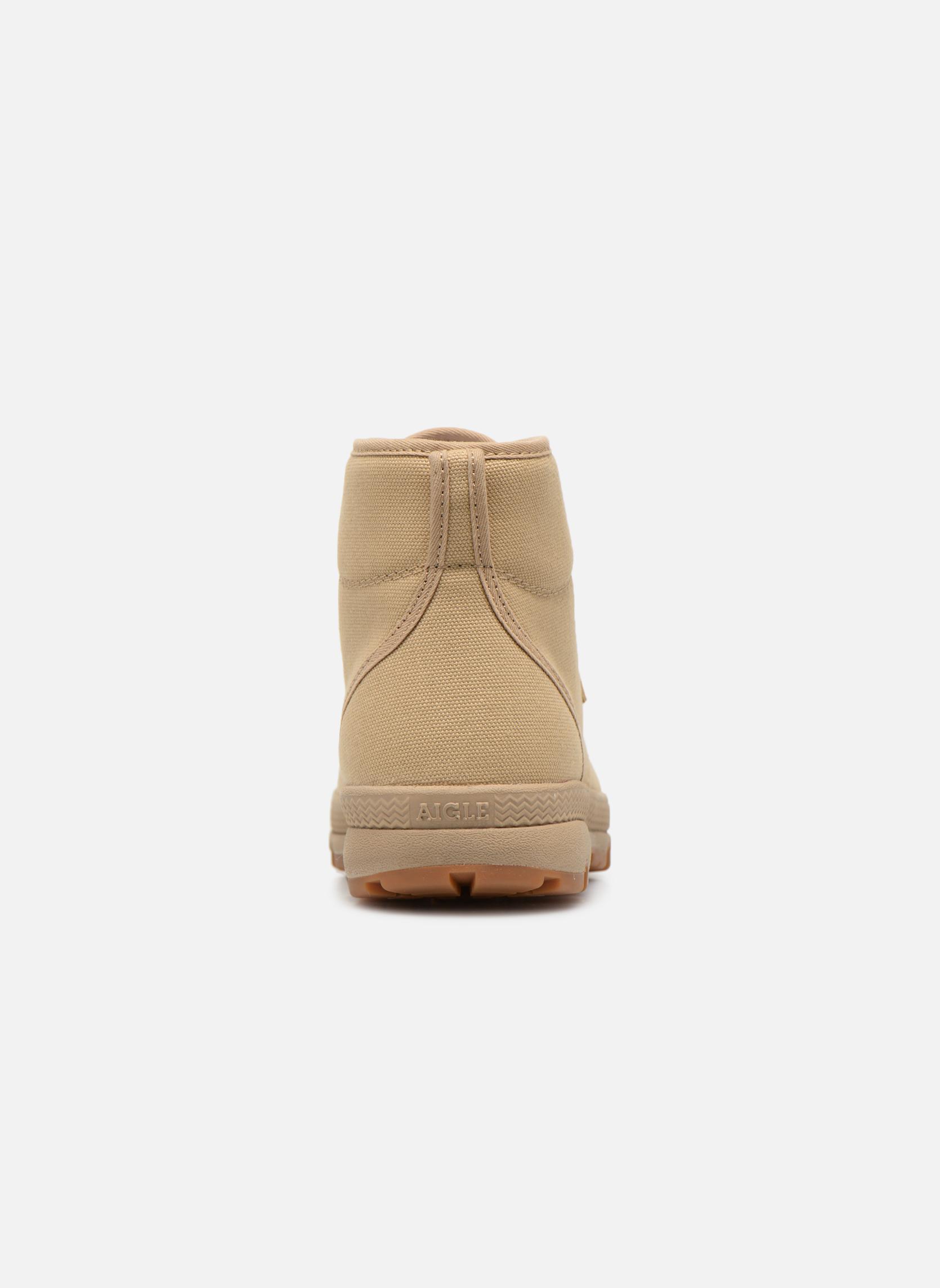 Stiefeletten & Boots Aigle Tenere 3 Light beige ansicht von rechts