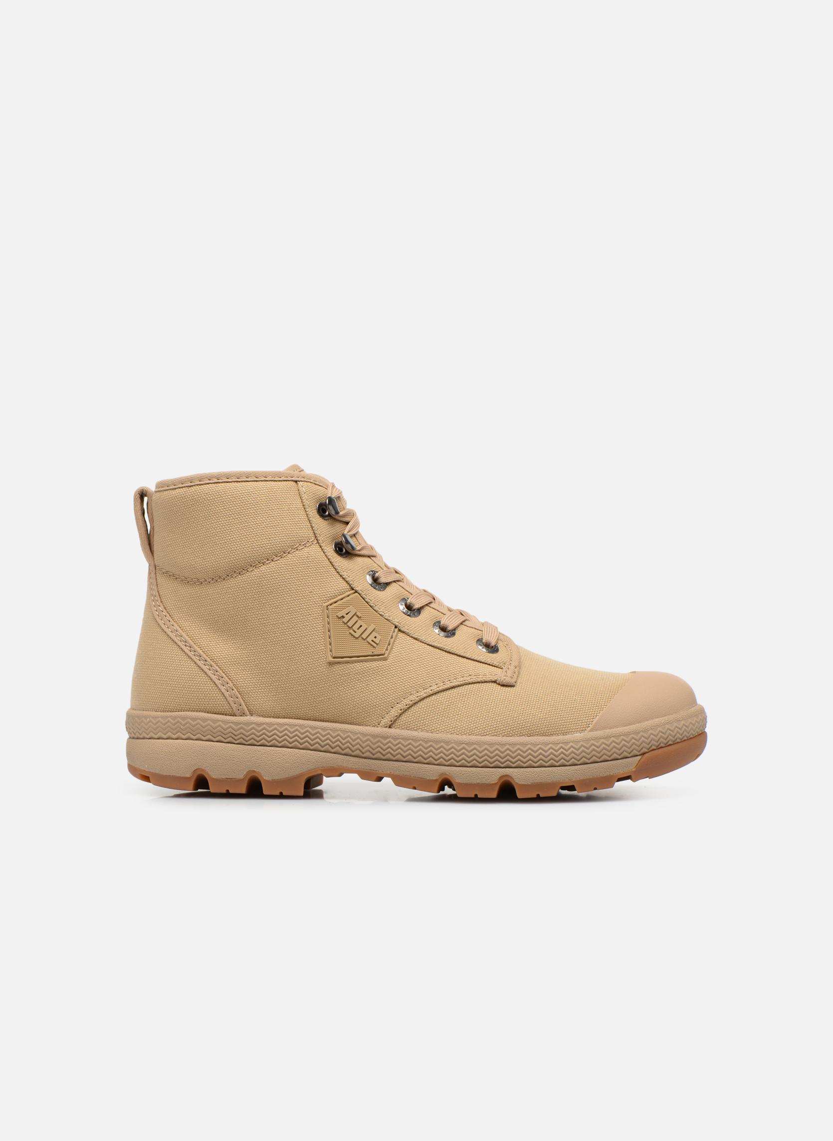 Stiefeletten & Boots Aigle Tenere 3 Light beige ansicht von hinten