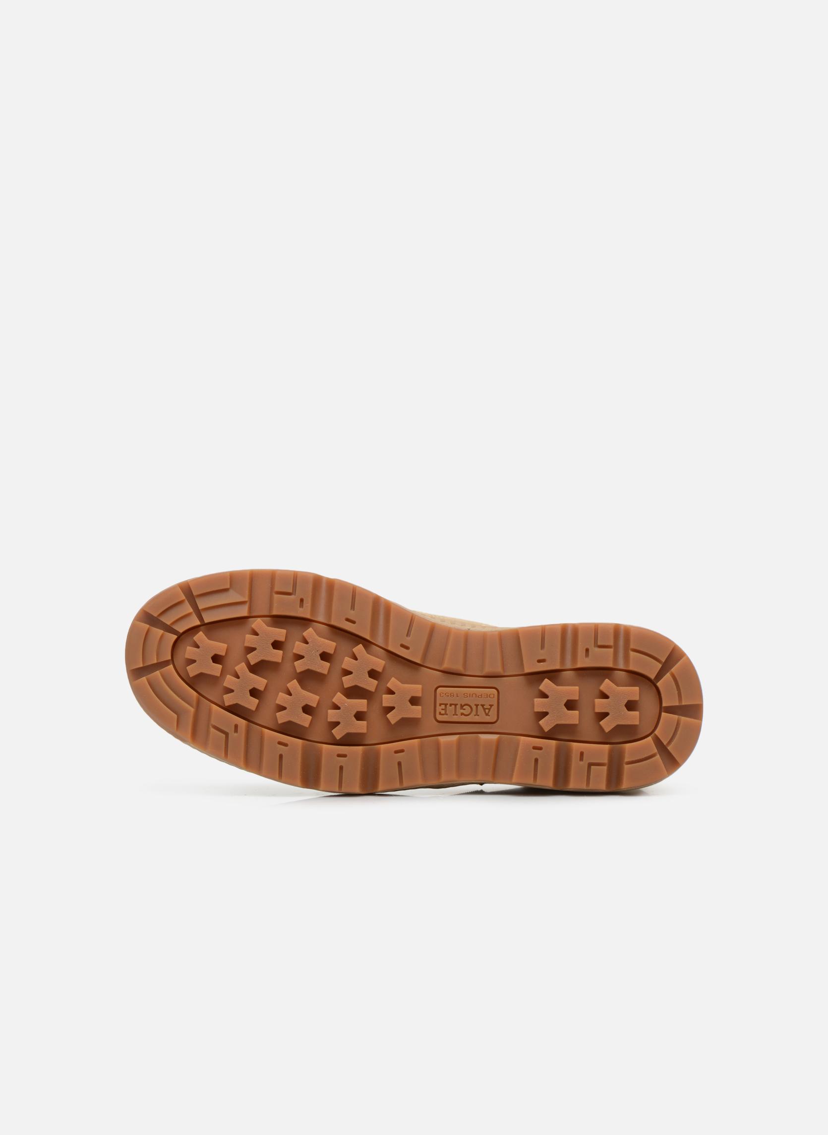 Stiefeletten & Boots Aigle Tenere 3 Light beige ansicht von oben