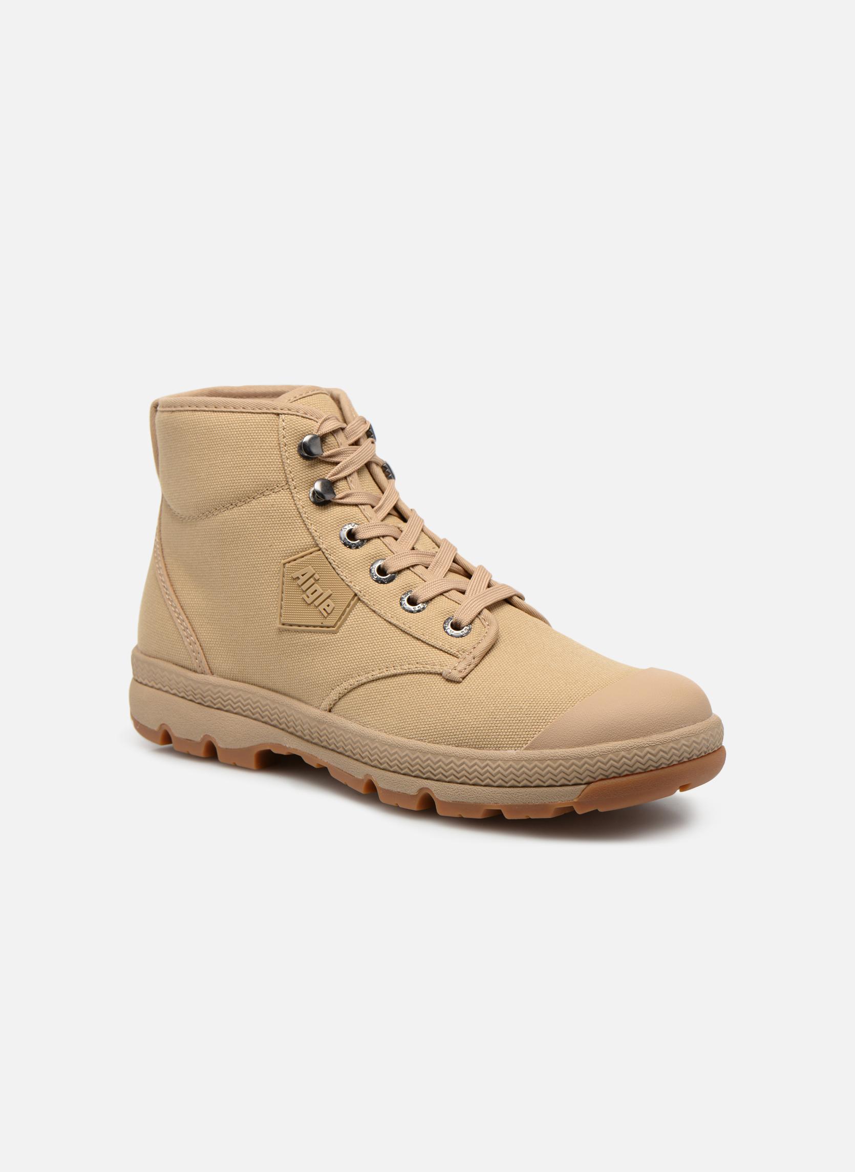 Bottines et boots Aigle Tenere 3 Light Beige vue détail/paire