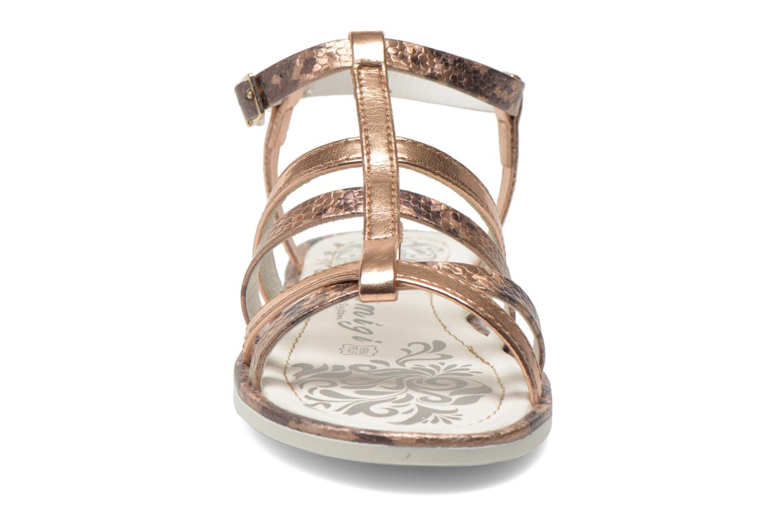 Sandales et nu-pieds Primigi Luz Or et bronze vue portées chaussures