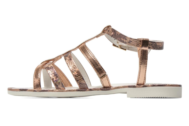 Sandales et nu-pieds Primigi Luz Or et bronze vue face