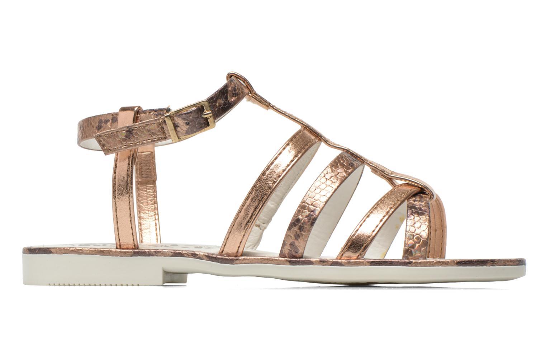 Sandales et nu-pieds Primigi Luz Or et bronze vue derrière