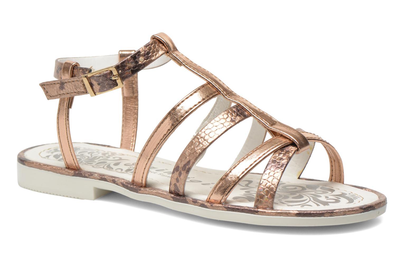Sandales et nu-pieds Primigi Luz Or et bronze vue détail/paire