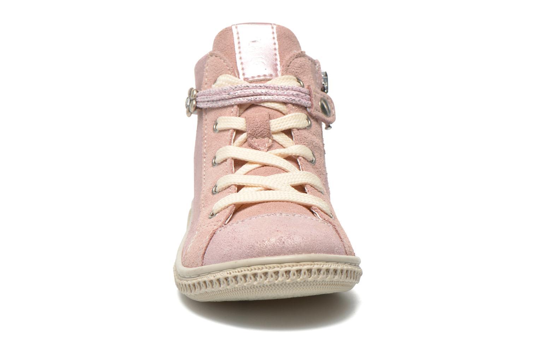 Baskets Primigi Etty 6-E Rose vue portées chaussures