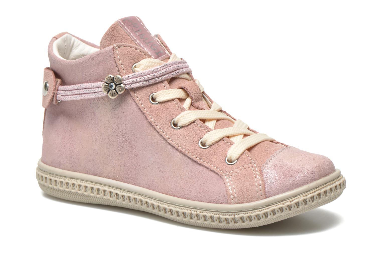 Baskets Primigi Etty 6-E Rose vue détail/paire