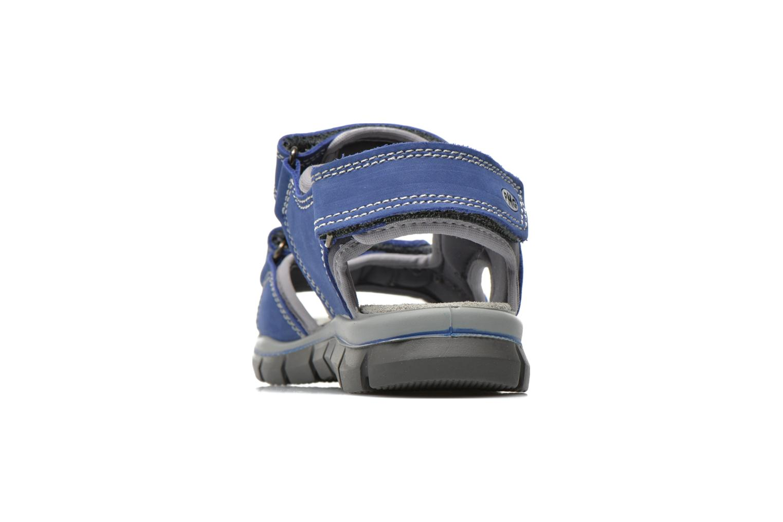 Sandales et nu-pieds Primigi Damir Bleu vue droite
