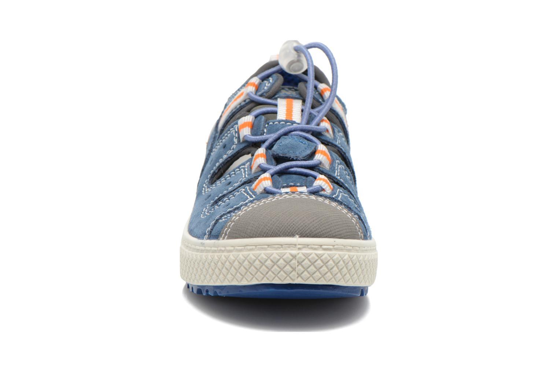 Baskets Primigi Dafydd Bleu vue portées chaussures