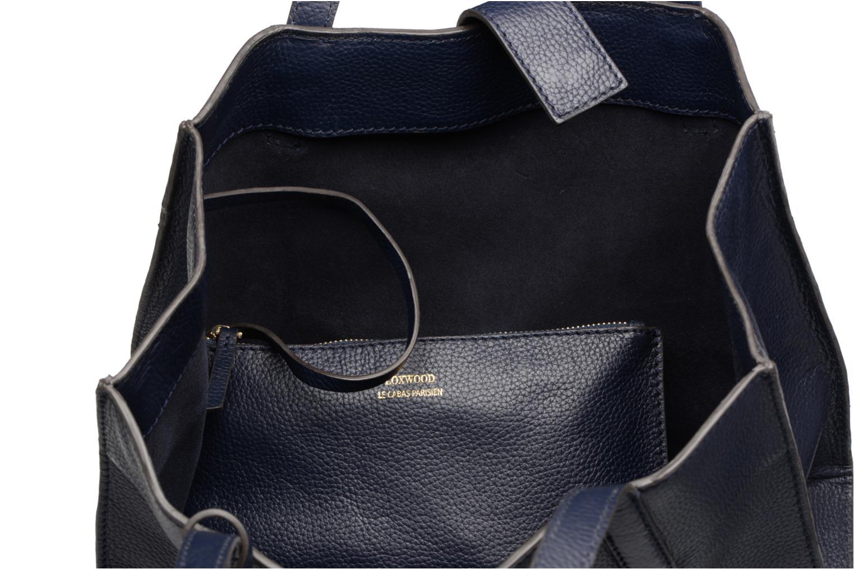 Handtassen Loxwood Victoria Blauw achterkant