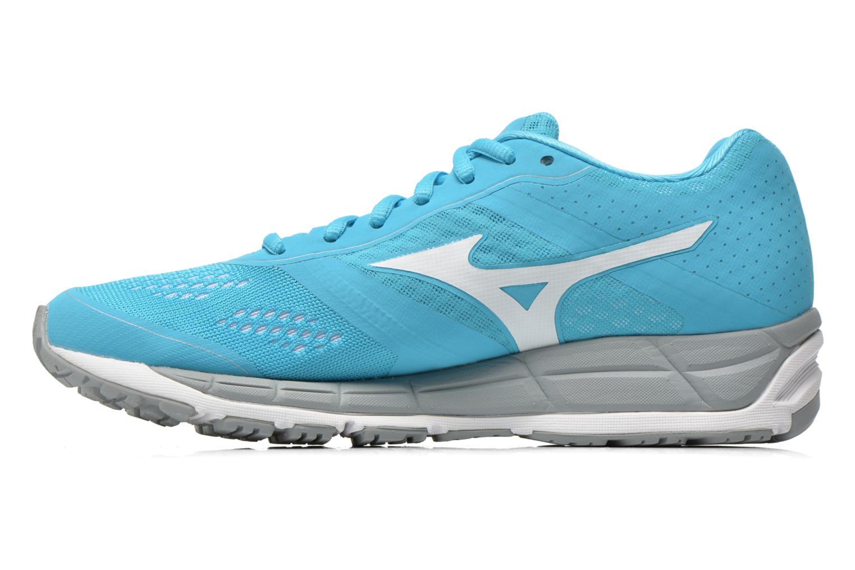 Chaussures de sport Mizuno Mizuno Synchro MX W Bleu vue face