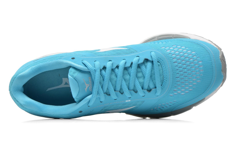 Chaussures de sport Mizuno Mizuno Synchro MX W Bleu vue gauche