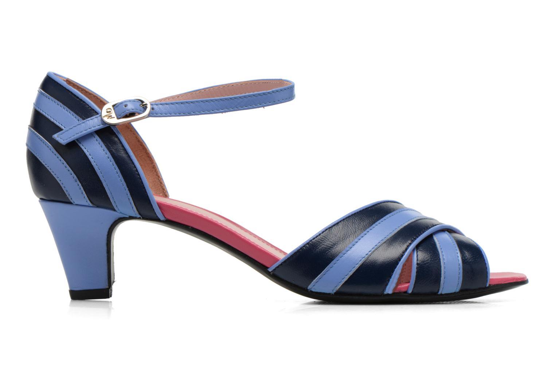 Sandales et nu-pieds Annabel Winship Rastafari Bleu vue derrière
