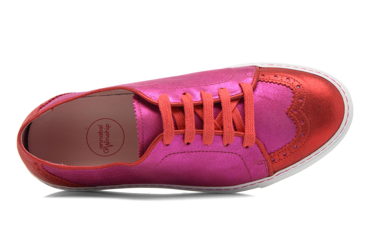 Sneakers Annabel Winship Power Rosa immagine sinistra
