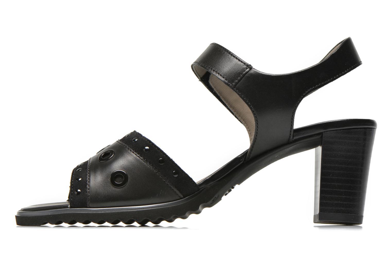 Sandali e scarpe aperte Ara Gresa Nero immagine frontale