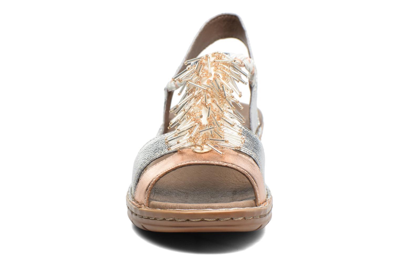 Sandales et nu-pieds Ara Hawai 2 Rose vue portées chaussures