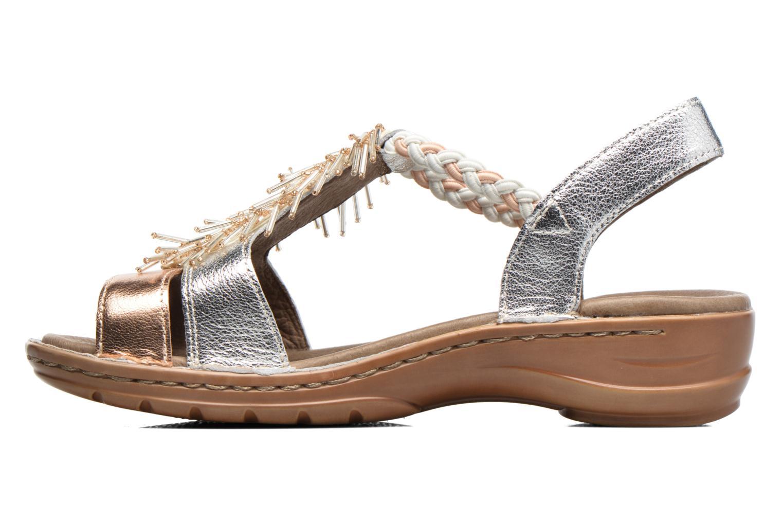 Sandales et nu-pieds Ara Hawai 2 Rose vue face