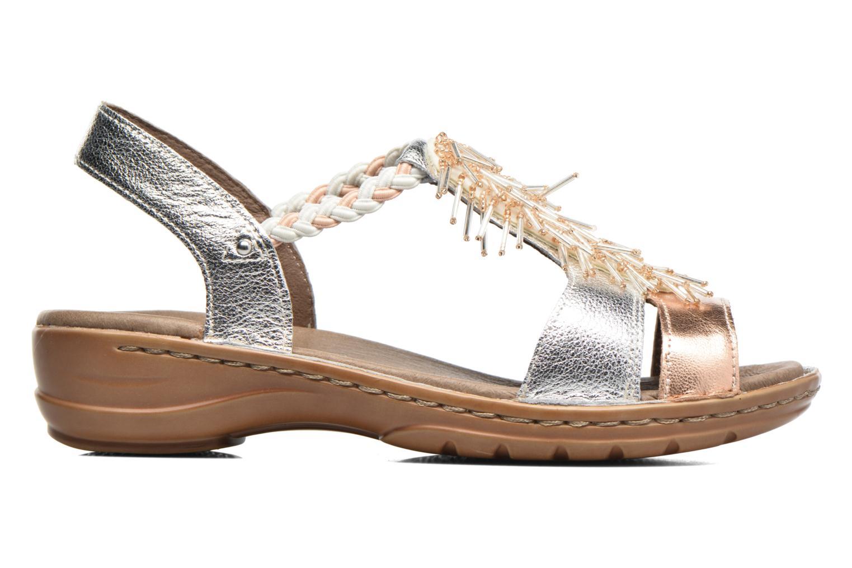 Sandales et nu-pieds Ara Hawai 2 Rose vue derrière