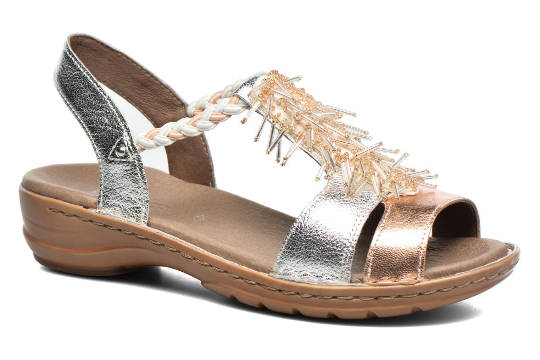 Sandales et nu-pieds Ara Hawai 2 Rose vue détail/paire