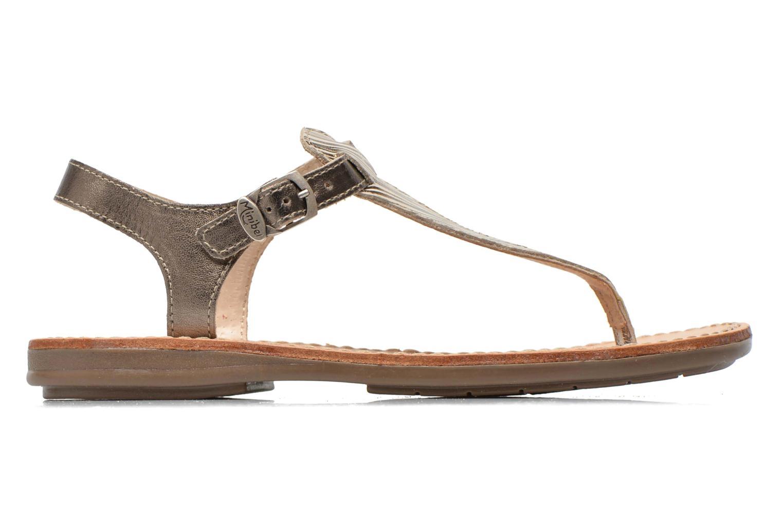 Sandales et nu-pieds Minibel Klarice Or et bronze vue derrière