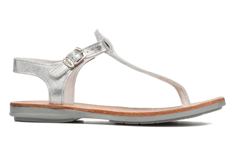 Sandales et nu-pieds Minibel Klarice Argent vue derrière