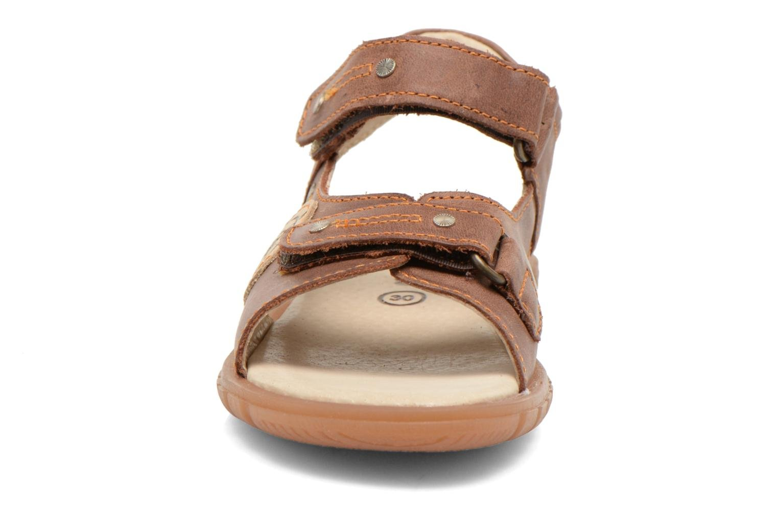 Sandals Minibel Kilian Brown model view