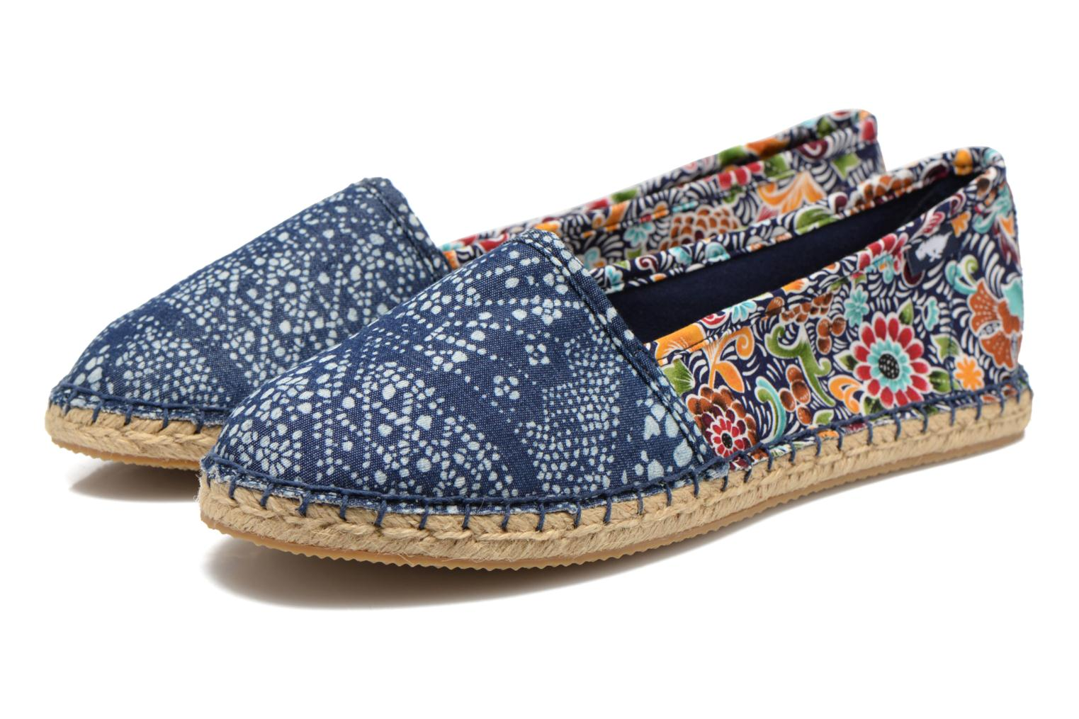 Espadrilles Rocket Dog Temple Multicolor 3/4 view