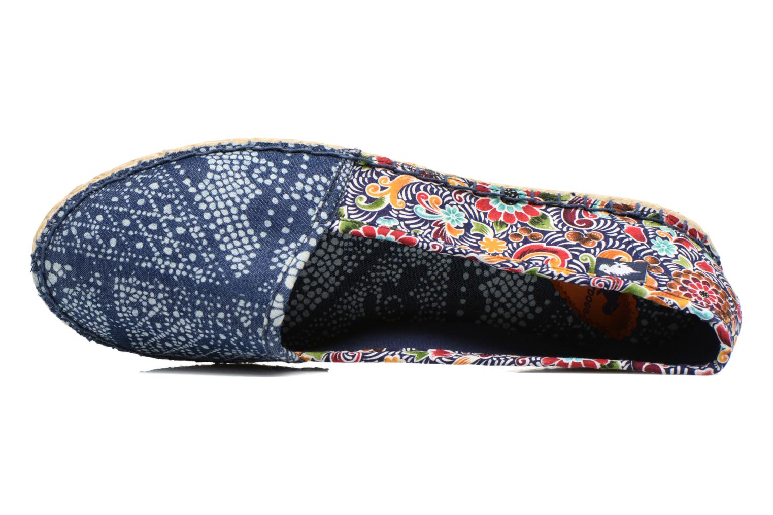 Espadrilles Rocket Dog Temple Multicolor view from the left