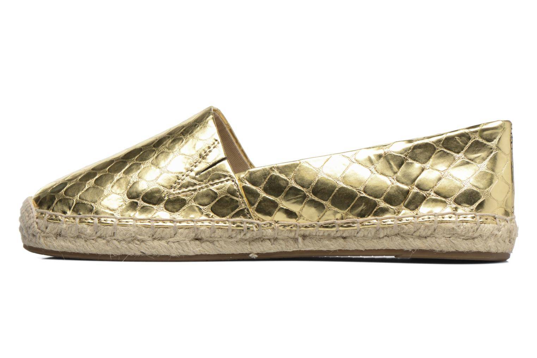 Espadrilles Michael Michael Kors Kendrick slip on Bronze and Gold front view
