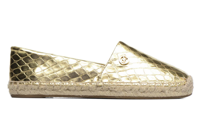 Espadrilles Michael Michael Kors Kendrick slip on Bronze and Gold back view