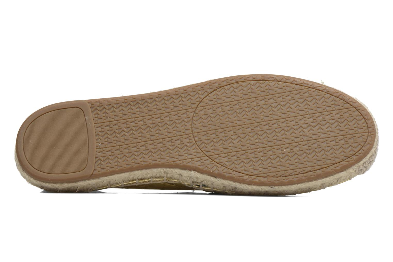Espadrilles Michael Michael Kors Kendrick slip on Bronze and Gold view from above