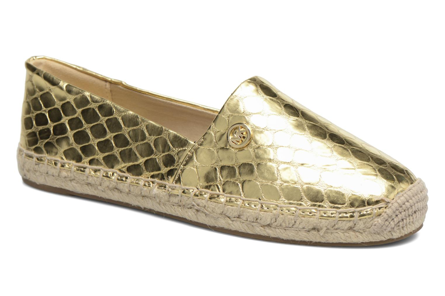 Espadrilles Michael Michael Kors Kendrick slip on Bronze and Gold detailed view/ Pair view