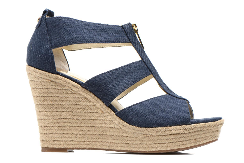 Sandales et nu-pieds Michael Michael Kors Damita Wedge Bleu vue derrière