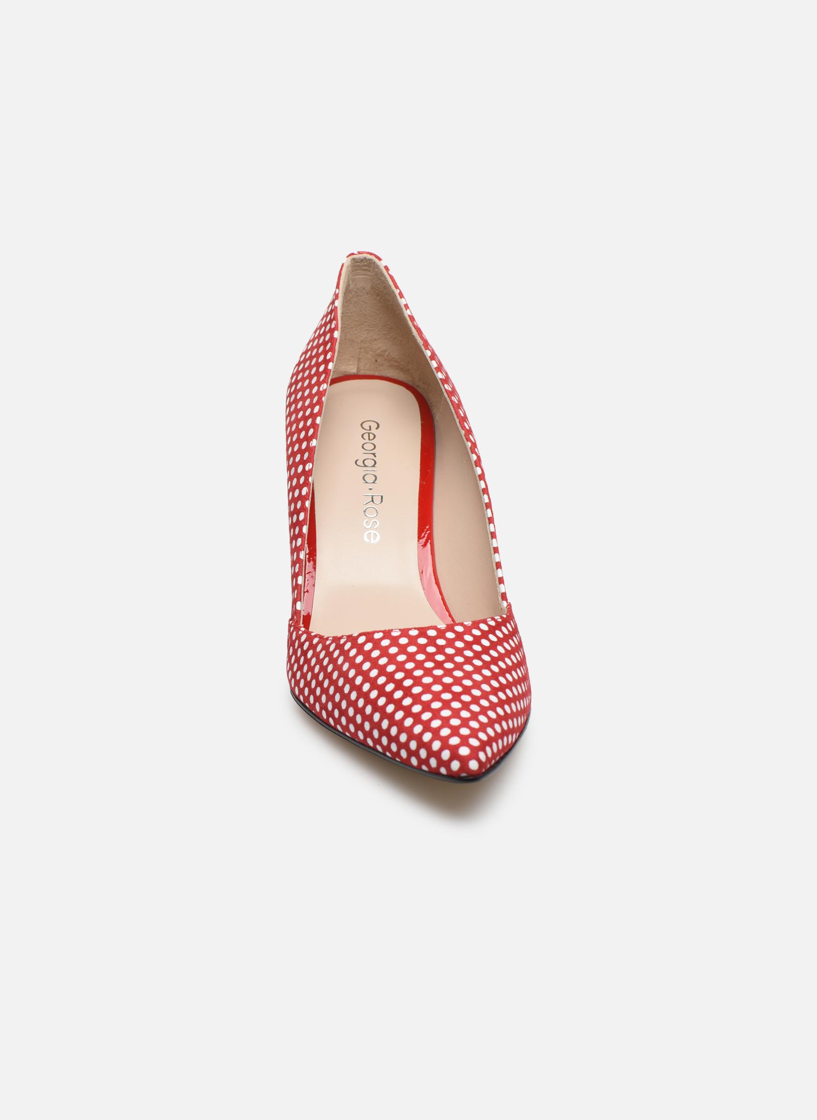 Zapatos de tacón Georgia Rose Fifillotte Rojo vista del modelo