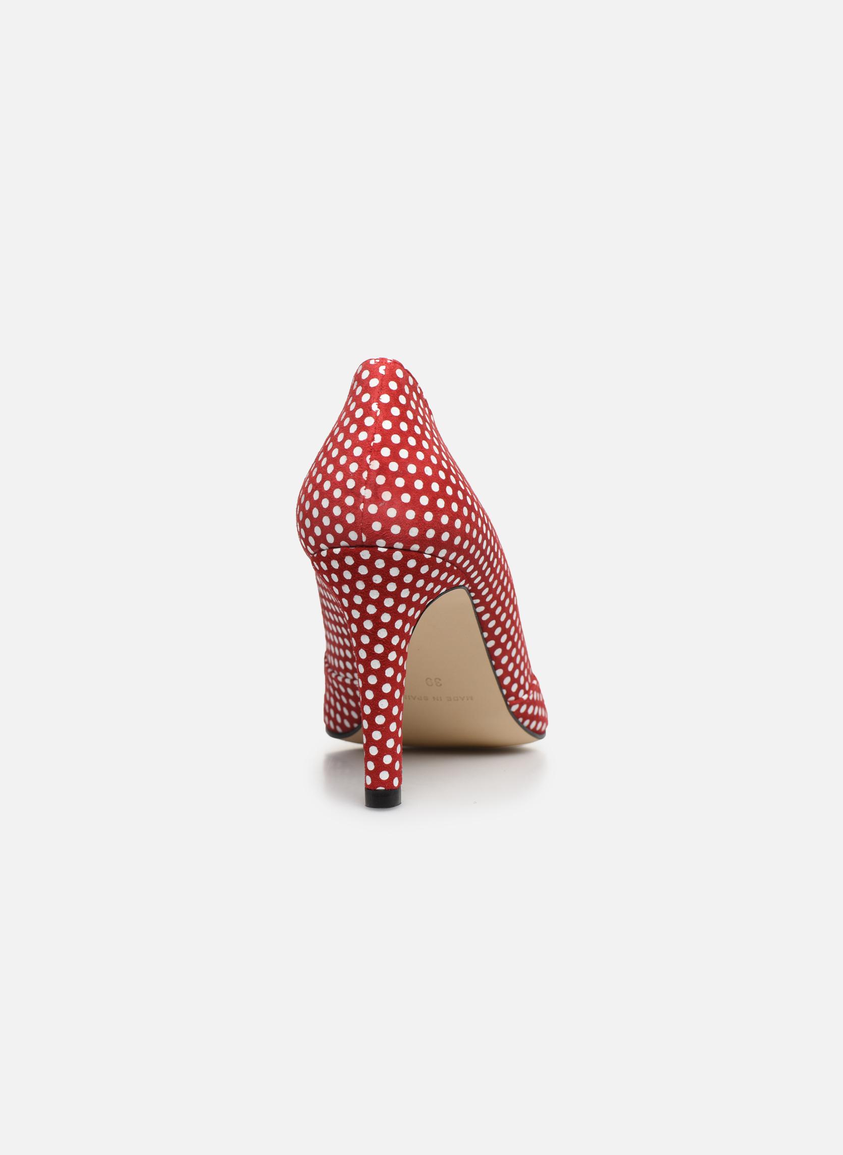 Zapatos de tacón Georgia Rose Fifillotte Rojo vista lateral derecha