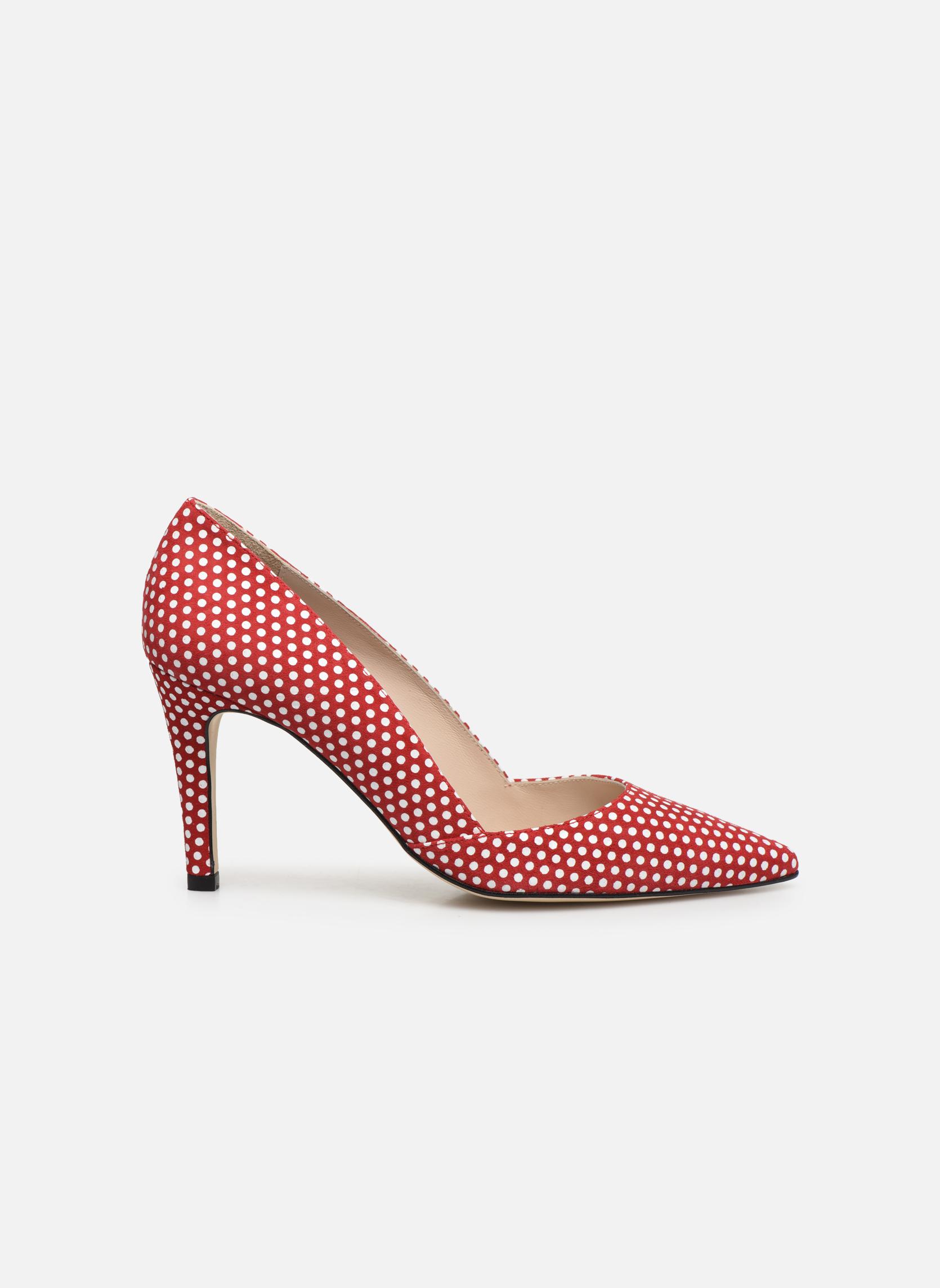 Zapatos de tacón Georgia Rose Fifillotte Rojo vistra trasera