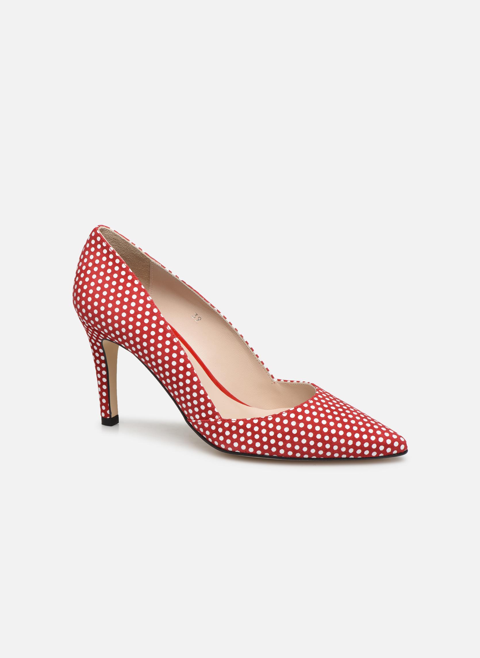 Zapatos de tacón Georgia Rose Fifillotte Rojo vista de detalle / par