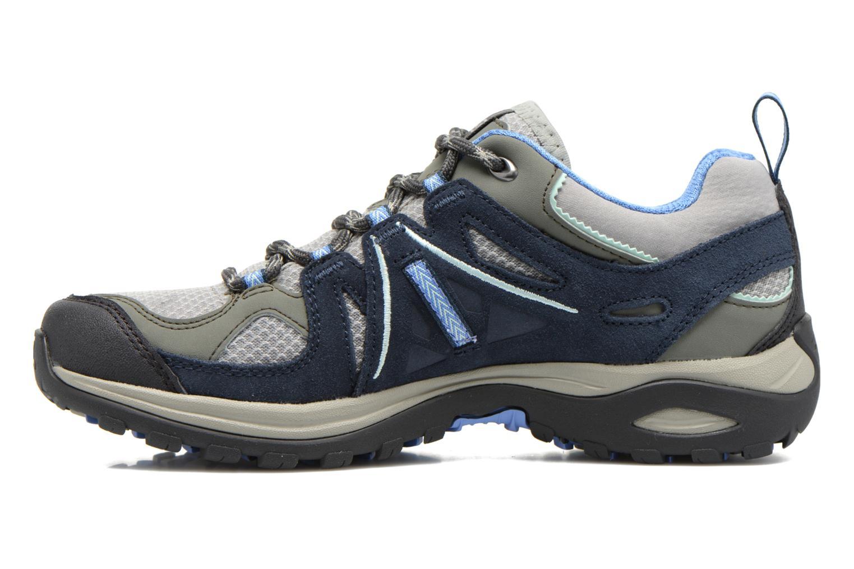 Chaussures de sport Salomon Ellipse 2 Aero W Gris vue face