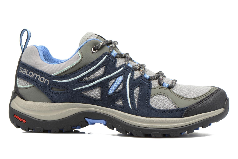 Chaussures de sport Salomon Ellipse 2 Aero W Gris vue derrière